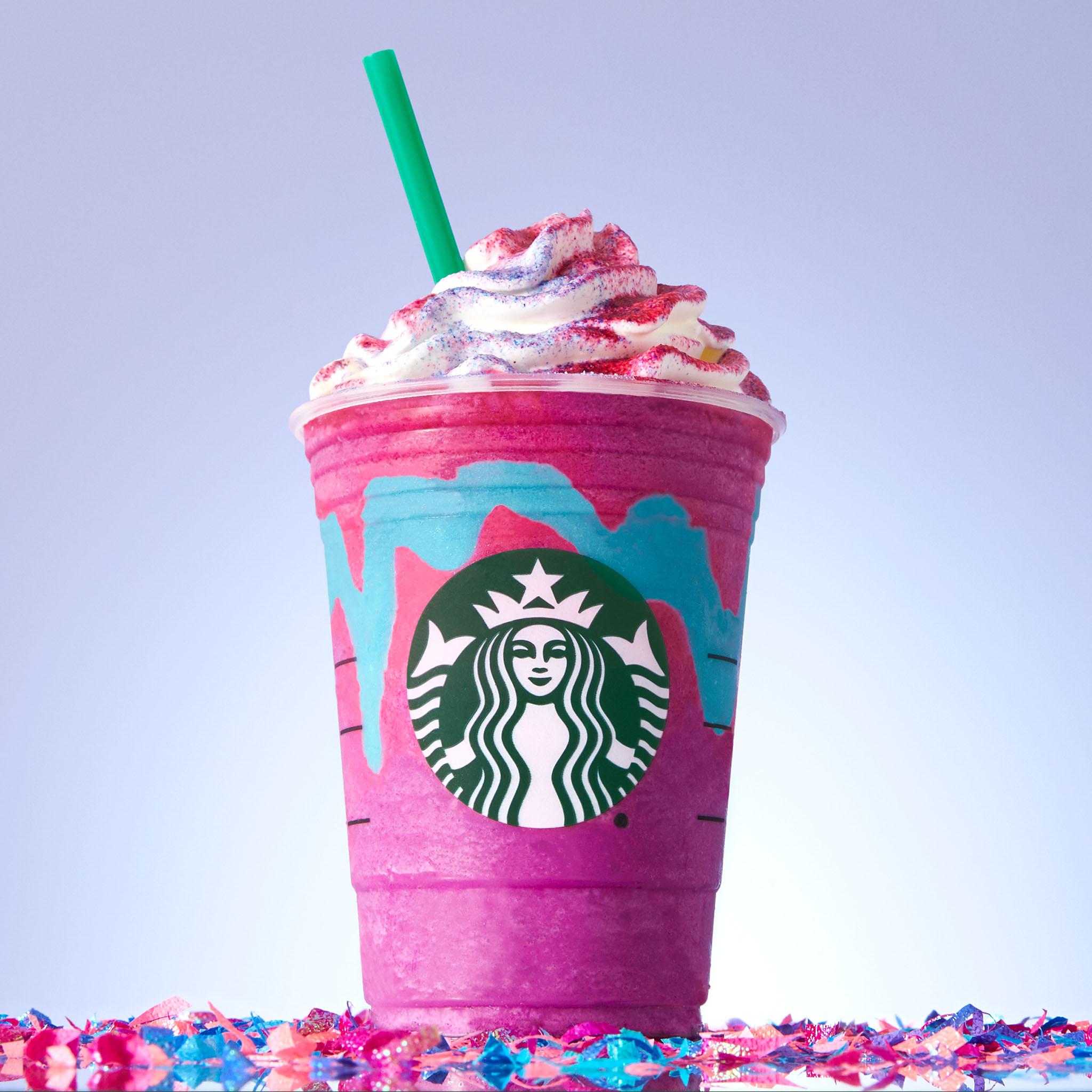Llegan los unicornios a Starbucks México