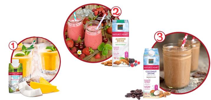 Recibe el verano con bebidas saludables