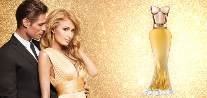 Descubre GOLD RUSH la fragancia no.20 de Paris Hilton