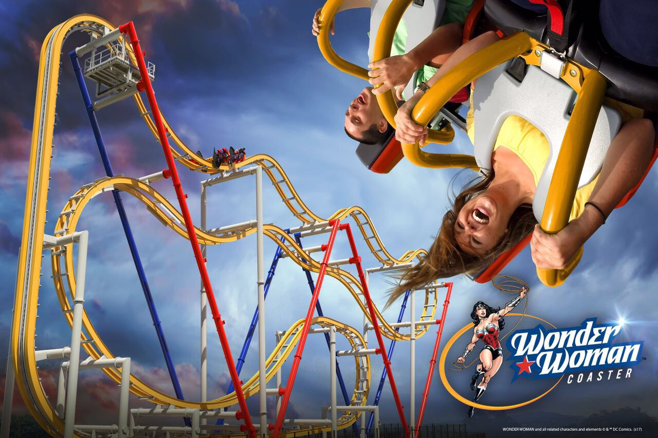 Estrenará Six Flags México: Wonder Woman Coaster