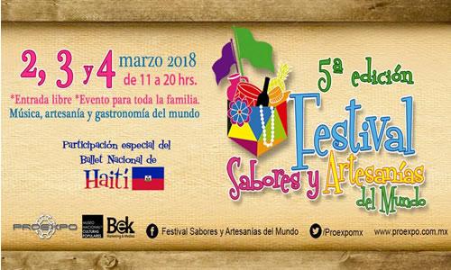 Regresa a Coyoacán el Festival Sabores y Artesanías del Mundo