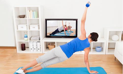 Descubre los básicos de un gimnasio en casa