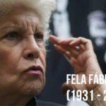 Fallece Fela Fábregas icono del teatro en México