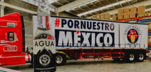 Dona Grupo Modelo 60 mil botellas a DIF Oaxaca