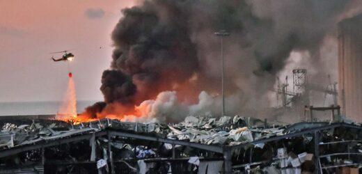 Sacude explosión al puerto de Beirut.