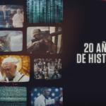 History celebra 20 años en América latina.