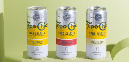 Debuta Topo Chico en México y Brasil como bebida preparada.